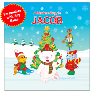 Christmas Book for Kids with Christmas Coloring Pages