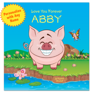 Love You Forever: Personalized Books for Kids, Love Poems for Kids, Valentines Gifts for Toddlers, Valentines Gifts for Kids, Personalized Gifts for Kids