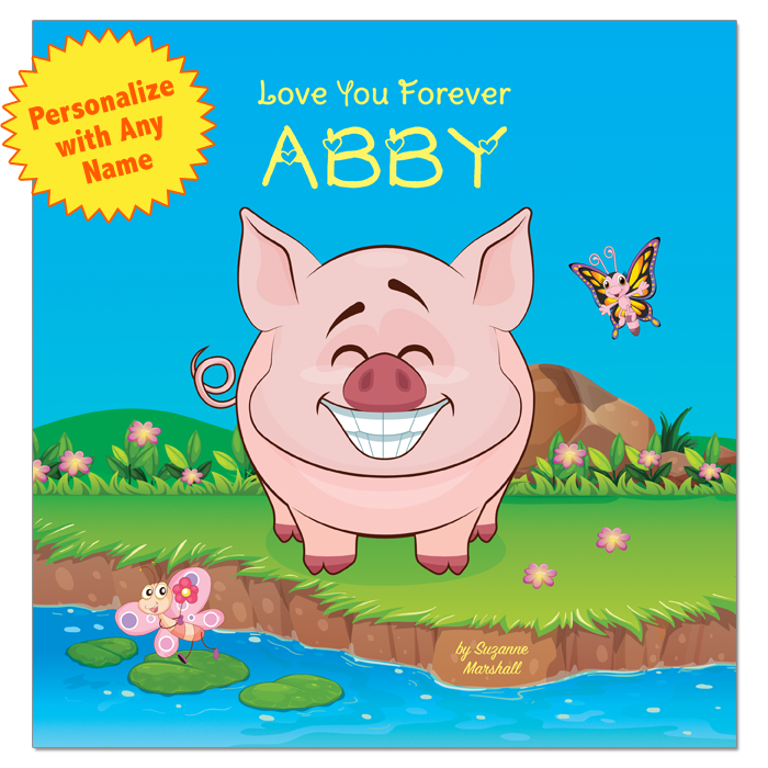 Love You Forever (personalized books, personalized gifts, gifts for kids, Valentine gifts for toddlers, Valentine gifts for kids, Valentine gifts for babies)