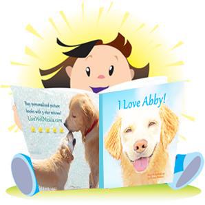 Personalized Children's Books: Child Reading Personalized Love Book