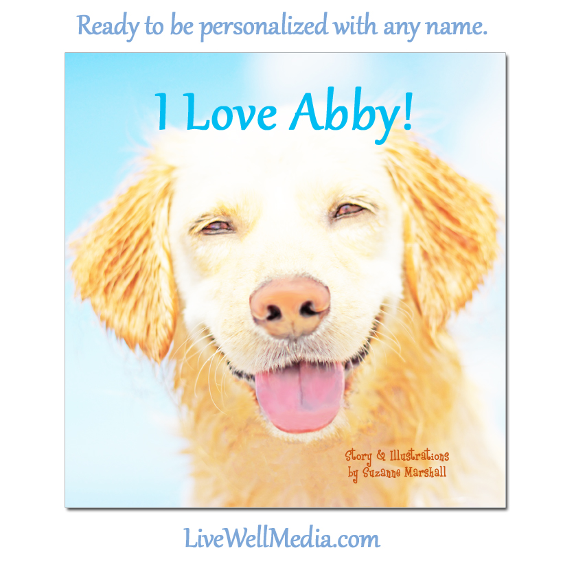 I Love Me! Personalized Book with Affirmations for Kids.